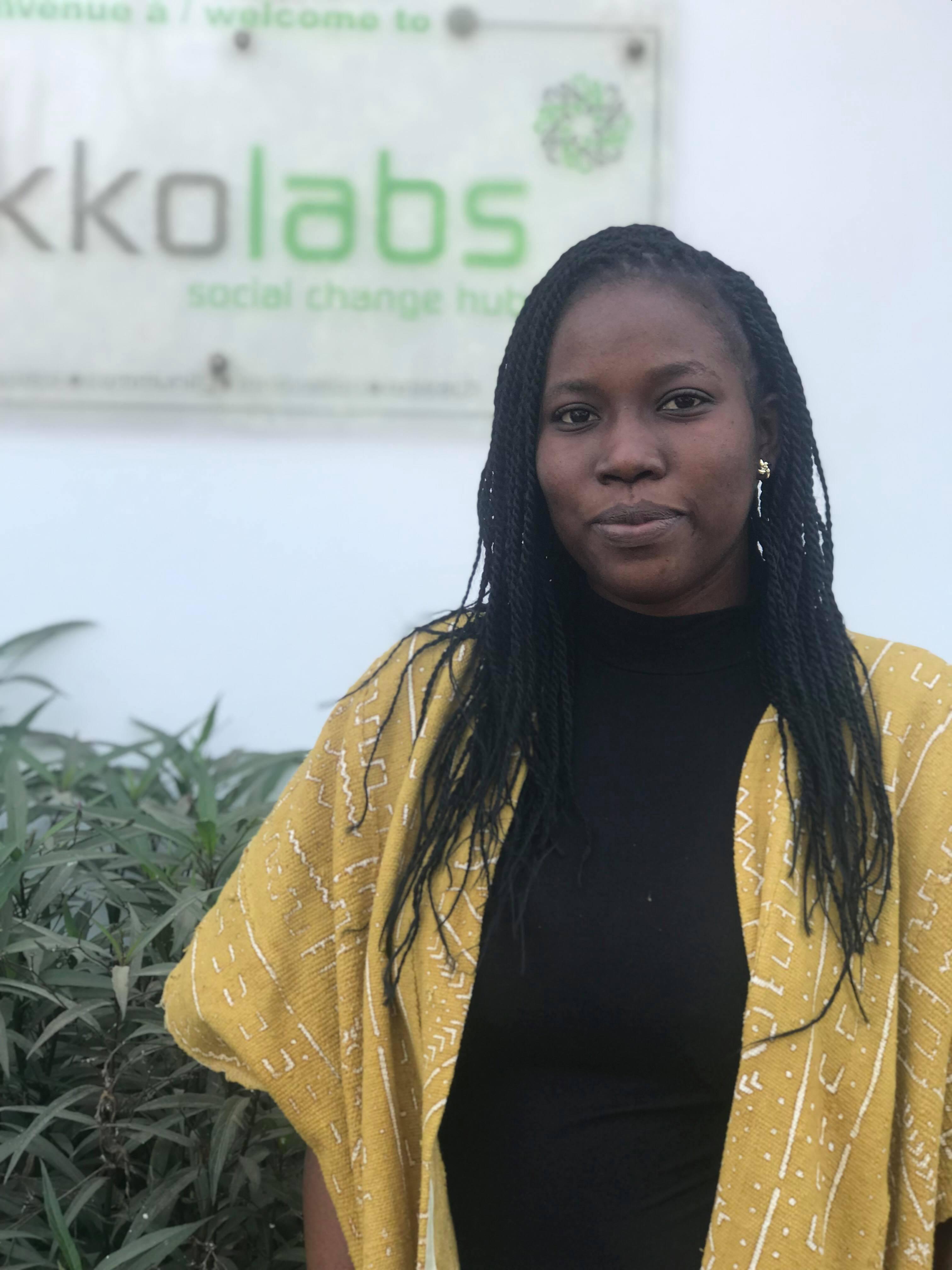 Djamila Younga - Hub Manager Ouagadougou